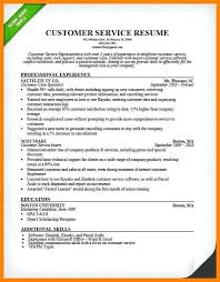 Skills To Put In A Resume Experience 9 Customer Service