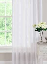 denny white voile a light open weave voile panel with a singular