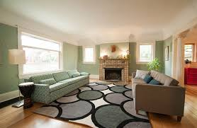 a light shade of green for your living room walls design