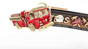 100 Truck Belt Americas Firefighters Leather Belt Collectors Fire Etsy