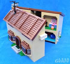 100 Simpsons House Plan The Lego Review 71006 Dont Have A Cow Man