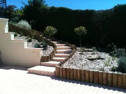 paysagiste sens koncept paysage aménagements bois rondins