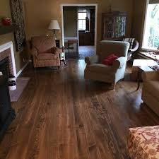 pine hardwood floor installation then sanding and refinishing
