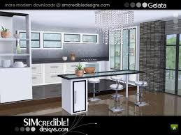 Gelata Modern Fully Recolorable Kitchen By SIMcredible Designs