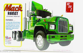 AMT 1039 Mack R685ST Semi Tractor Plastic Model Kit 1/25 | Shore ... Bigfoot Amt Ertl Monster Truck Model Kits Youtube New Hampshire Dot Ford Lnt 8000 Dump Scale Auto Mack Cruiseliner Semi Tractor Cab 125 1062 Plastic Model Truck Older Models Us Mail C900 And Trailer 31819 Tyrone Malone Kenworth Transporter Papa Builder Com Tuff Custom Pickup Photo Trucks Photo 7 Album Ertl Snap Fast Big Foot Monster 1993 8744 Kit 221 Best Cars Images On Pinterest