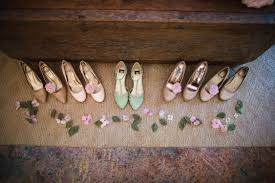 Tan And Mint Green Vintage Shoes By Leif Brandt Photography