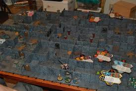 3d Printed Dungeon Tiles by Fantasy Painting And Modeling Modular 3d Dungeon Building On A