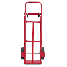 100 Two Wheel Hand Truck Shop Safco Way Convertible 500600pound Capacity 18