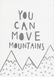 Items Similar To You Can Move Mountains Quote Nursery Print Baby Gift Neutral Decor Minimalist Grey Kids Room Wall Art Inspirational