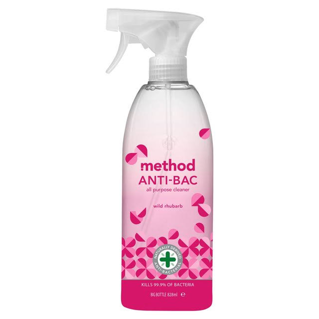 Method Antibacterial All Purpose Cleaner - Wild Rhubarb, 828ml