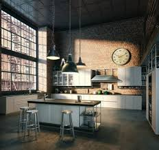 cuisine loft cuisine industrielle l élégance brute en 82 photos exceptionnelles