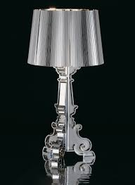 bourgie chrome table l chromed by kartell