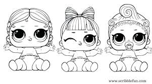 Dolls Coloring Pages Doll Free Printable Surprise Shoppie