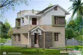 100 Small Beautiful Houses Eco Friendly Square Feet Villa Elevation House Plans