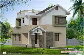 100 Small Beautiful Houses Eco Friendly Square Feet Villa Elevation