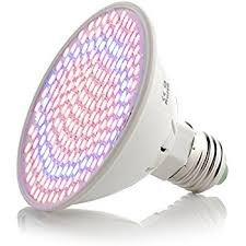 led grow light for indoor plants w heat sink 20w