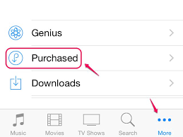 How to See a Purchase History for iTunes on an iPhone