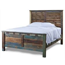 bed frames cheap rustic bedroom furniture sets solid platform