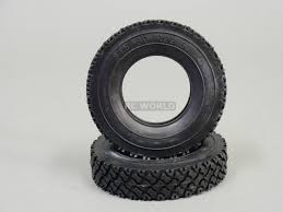 100 14 Truck Tires RC 1 Scale TIRES 92mm For Tamiya Semi S 2PCS RC WORLD