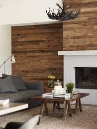 wohnzimmer modern gestalten holz wandverkleidung kamin