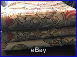 Pottery Barn Curtains Ebay by Pottery Barn Simone Drapes Set 3 50 84 Pottery Barn Curtains