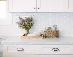 kitchen white marble subway tiles in kitchen pictures decorations