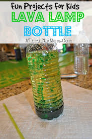 How To Make A Lava Lamp Bottle DIY Kids Projects With Oil
