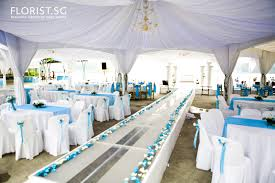 Blue Wedding Decorations Theme Royal Ideas And With Regard To