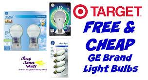 target free cheap ge light bulbs