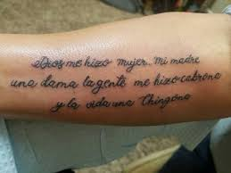 Best 25 Spanish Quotes Tattoos Ideas Live Tattoo Traditional At Quotesspanish Quote