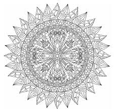 Printable Mandala Coloring Pages From Monday