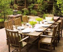 large patio table and chairs outdoor dining table