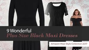 9 wonderful size black maxi dresses amazon maxi style