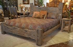 Image Of Log Rustic King Size Bedroom Sets