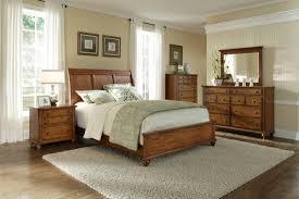 Hayden Place Oak Sleigh Bedroom Set