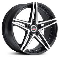 Spec-1 SP-5 Wheels, Gloss Black Machined Rims. | Spec-1 Racing ...