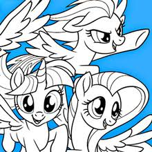 MY LITTLE PONY Coloring Pages My Little Pony The Movie