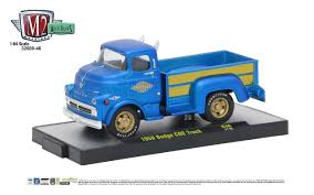 100 46 Dodge Truck M2 Machines 164 Auto Thentics Release 1968 COE