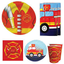 100 Fire Truck Plates Engine Party Wwwtopsimagescom