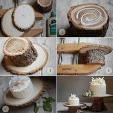 Find This Pin And More On DIY Rustic Wood Cake Stands