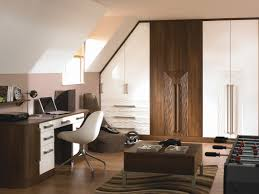 White Gloss And Walnut Bedroom Furniture