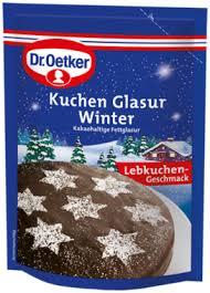kuchenglasur winter
