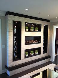12 Best Display Units Images On Pinterest Contemporary Unit With Regard To Dining Room Wall Plans 9