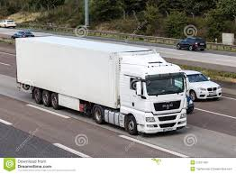 MAN Truck With A Trailer On German Highway Editorial Image - Image ...