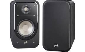 Polk Audio Signature S20 Black Bookshelf speakers at Crutchfield