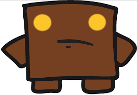 Super Meat Boy Brownie by BagheadArt