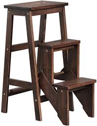 WCS Imported Imported Imported Solid Wood Folding Ladder ...