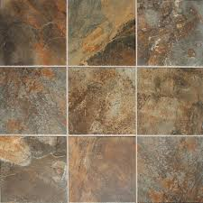mohawk皰 slate 12 x 12 porcelain floor and wall tile at