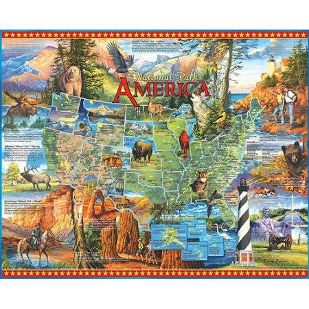 White Mountain Puzzles National Parks Jigsaw Puzzle - 1000 Pieces
