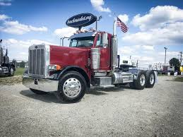 USED 2005 PETERBILT 379EXHD TANDEM AXLE DAYCAB FOR SALE IN MS #6457